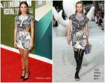 Adele Exarchopoulos In Louis Vuitton  @ 'The White Crow' London Film Festival Premiere