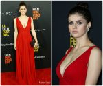 Alexandra Daddario In Michael Kors Collection  @ 'Nomis' LA Film Festival Premiere