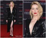 Amber Heard In Elie Saab @ 'London Fields'  Hollywood Premiere