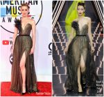 Amber Heard In Ralph & Russo Couture  @ 2018 American Music Awards