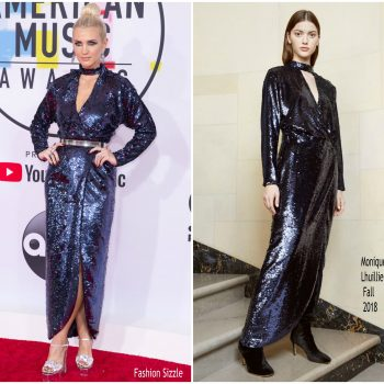 ashlee-simson-in-monique-lhuillier-2018-american-music-awards