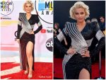 Bebe Rexha  In Balmain @ 2018 American Music Awards