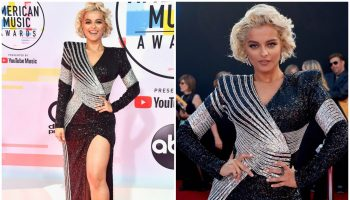 bebe-rexha-in=balmain-2018- american -music awards