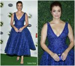 Bellamy Young In Michael Cinco @ 2018 Farm Sanctuary On The Hudson Gala