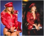 Beyonce Knowles Wearing  Alexandre Vauthier  Closing Her 'On The Run II' Tour