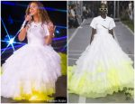 Beyonce Knowles Wearing   Off-White  Closing Her 'On The Run II' Tour