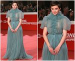 Cailee Spaeny In  Valentino  @ 'Bad Times at the El Royale' Rome Film Festival Premiere