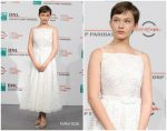 Cailee Spaeny In Miu Miu Collection  @  'Bad Times at the El Royale' Rome Film Festival Photocall