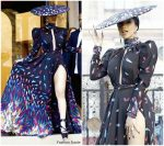 Cardi B In Michael Costello – Out In Paris