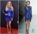 Carrie Underwood In Tadashi Shoji  @ 2018 CMT Artists Of The Year