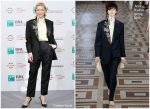 Cate Blanchett In Acne Studios  @ 'The House With A Clock In Its Walls' Rome Film Festival Photocall