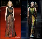 Cate Blanchett In Maison Margiela Haute Couture  @ 'The House With A Clock In Its Walls' Rome Film Festival Premiere