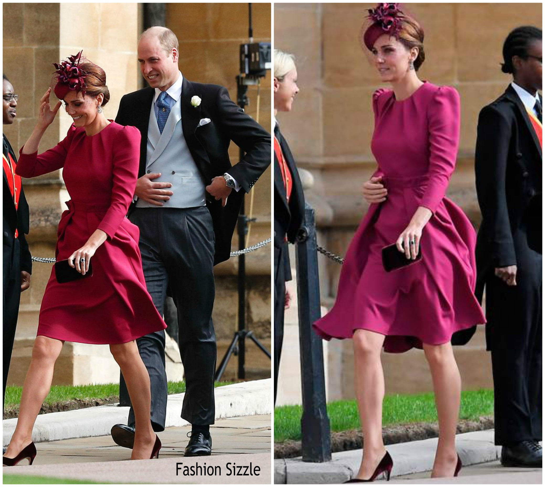 catherine-duchess-of-cambridge-in-alexander-mcqueen-princess-eugenie-of-yorks- wedding