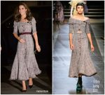 Catherine, Duchess Of Cambridge In Erdem Opens The V&A Photography
