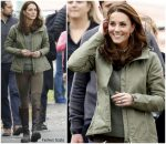 Catherine, Duchess of Cambridge Returns From Maternity Leave