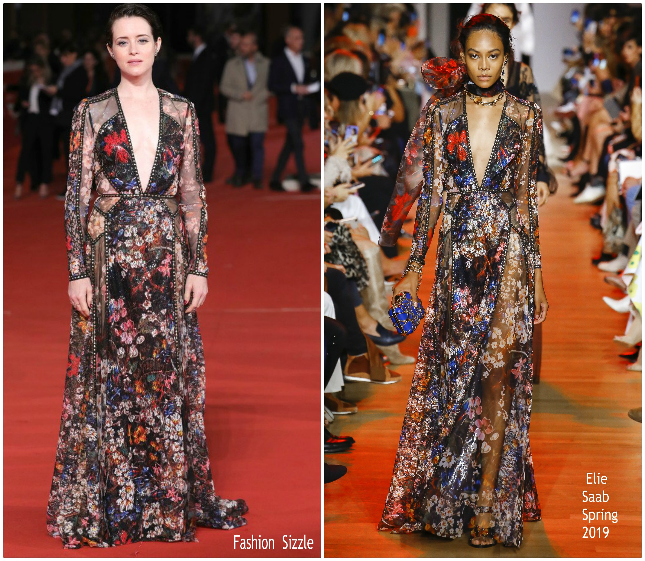 claire-foy-in-elie-saab-the-girl-in-the-spider-web-rome-film-festival-premiere
