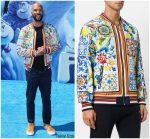 "Common  In Dolce and Gabbana @  ""Small Foot ""  LA Premiere"