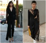 Dakota Johnson in Givenchy @ 'Jimmy Kimmel Live'