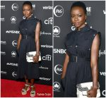 Danai Gurira in Proenza Schouler @ 2018 Global Citizen Festival