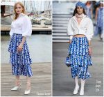 Ellie Bamber In Chanel  @ 'Les Miserables' MIPCOM 2018 Photocall