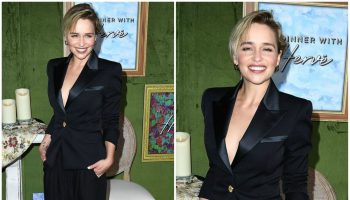 emilia-clarke-in-balmain-my-dinner-with-herve-la-premiere
