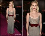 Emma Roberts in Markarian @ 'In a Relationship' LA Premiere