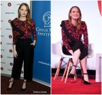 Emma Stone – Great Minds Think Unalike: A Conversation With Emma Stone And Dr. Harold S. Koplewicz in NYC