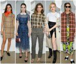 Front Row @  Miu Miu Spring/ Summer 2019 Fashion Show In Paris