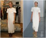 Gwyneth Paltrow  In   Mother of Pearl   @ Goops' 10th Anniversary  &  Launch of  Goop London Pop-Up