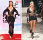 Heidi Klum In Julien Macdonald  @  2018 American Music Awards