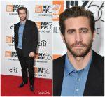 "Jake Gyllenhaal  In DunHill  @  ""Wildlife""  New York Film Festival Premiere"