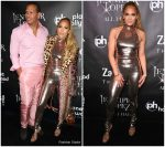Jennifer Lopez & Alex Rodriguez In Tom Ford  @ 'Jennifer Lopez: All I Have' Finale