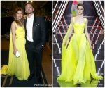 Jessica Biel In Ralph and Russo  Couture  @  Michael Che and Colin Jost's Emmys After Party