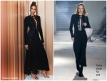 Joan Smalls  In Proenza Schouler  @  Estée Lauder El Hispanic Panel
