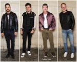 Justin Theroux, Mark Ronson, Luke Evans & Paul Bettany  @ Louis Vuitton Spring 2019