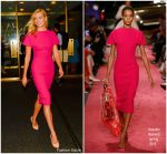 Karlie Kloss In   Brandon Maxwell  @ International Day of The Girl Child