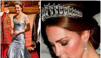 kate-middleton-wears-princess-dianas-tiara-diamond-necklace-state-banquet-buckingham-palace