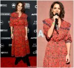 Katie Holmes  In Isabel  Marant  @ 2018 Global Citizen Festival: Be The Generation