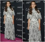 Keira Knightley In Alexander McQueen  @ 'Colette' New York Screening