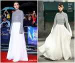 Keira Knightley In Chanel Haute Couture  @ 'Colette' London Film Festival Premiere