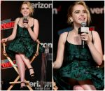 Kiernan Shipka In Prada @ New York Comic Con 2018