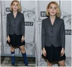 Kiernan Shipka In Thom Browne  @ Build Series