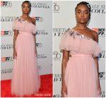 Kiki Layne In Valentino  @ 'If Beale Street Could Talk' New York Film Festival Premiere