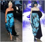 Lady Gaga In Marc Jacobs  @ The Late Show with Stephen Colbert