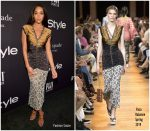 Laura Harrier in Paco Rabanne @ 2018 InStyle Awards