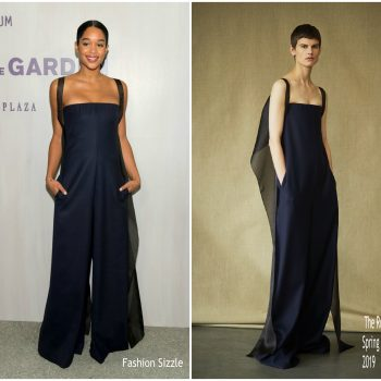 laura-harrier-in-the-row-hammer-museum-16th-annual-gala-in-the-garden