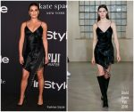 Lea Michele In David Koma  @ 2018 InStyle Awards