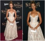 "Leona  Lewis In Michael Cinco @ "" The Nutcracker And The Four Realms"" Premiere"