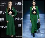 Lily Collins In Givenchy @ 2018 InStyle Awards
