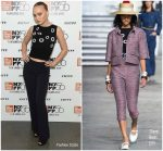 Lily-Rose Depp In Chanel  @  'A Faithful Man' New York Film Festival Premiere